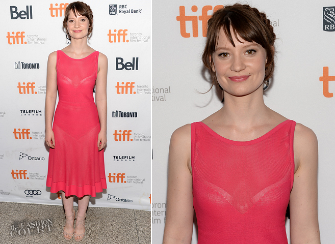 Mia Wasikowska in Azzedine Alaïa | 'Tracks' Premiere - 2013 Toronto International Film Festival