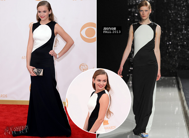 Morgan Saylor in Honor | 2013 Emmys