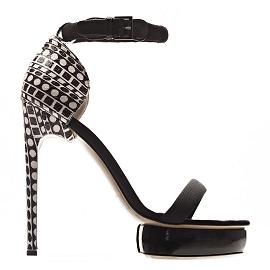 Nicholas Kirkwood Two-Strap Platform Sandals