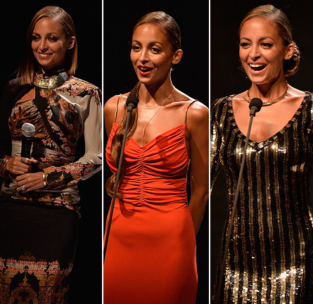 Nicole Richie's 2013 Style Awards Wardrobe Changes!