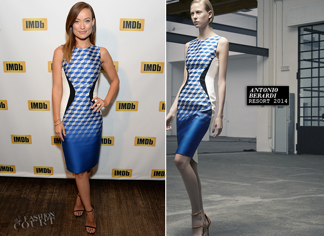 Olivia Wilde in Antonio Berardi | IMDb's First-Ever 'STARmeter Award' - 2013 Toronto International Film Festival