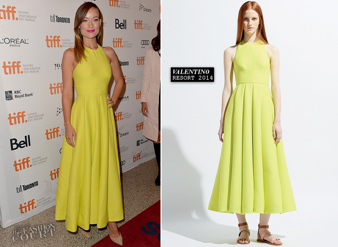 Olivia Wilde in Valentino | 'Third Person' Premiere - 2013 Toronto International Film Festival