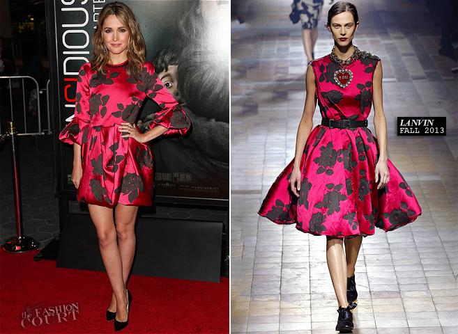 Rose Byrne in Lanvin | 'Insidious: Chapter 2' Premiere