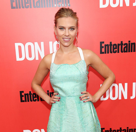 Scarlett Johansson in Roland Mouret | 'Don Jon' New York City Premiere