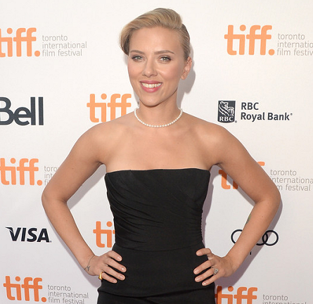 Scarlett Johansson in Saint Laurent | 'Don Jon' Premiere - 2013 Toronto International Film Festival