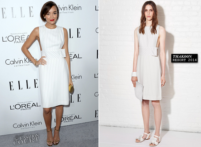 Ashley Madekwe in Thakoon | ELLE Women In Hollywood Celebration 2013