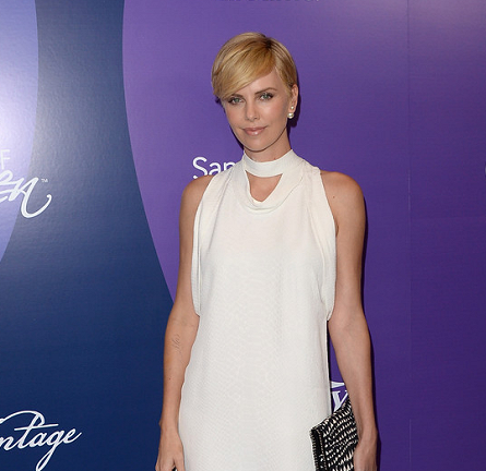 Charlize Theron in Stella McCartney   Variety's Power of Women Event 2013