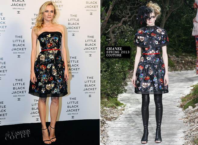 Diane Kruger in Chanel Couture | Chanel Little Black Jacket Event