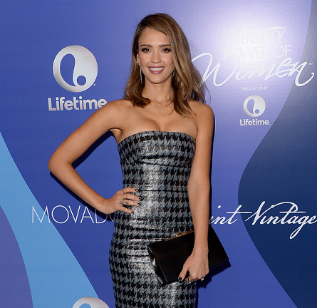 Jessica Alba in Christian Dior   Variety's Power of Women Event 2013