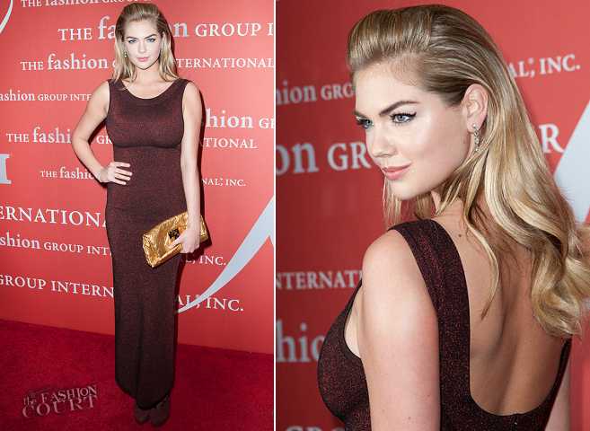 Kate Upton in Azzedine Alaïa | Night Of Stars 2013