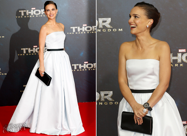Natalie Portman in Christian Dior Couture | 'Thor: The Dark World' Berlin Premiere