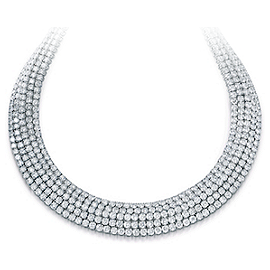 Norman Silverman Diamond Necklace