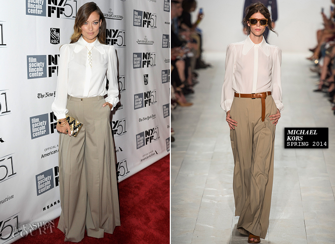 Olivia Wilde in Michael Kors | 'Her' Closing Night Gala Screening - New York Film Festival 2013