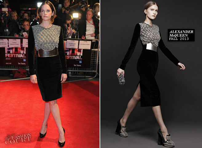 Ruth Wilson in Alexander McQueen | 'Locke' Premiere - 2013 BFI London Film Festival