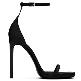 Saint Laurent Paris JANE Leather Sandals