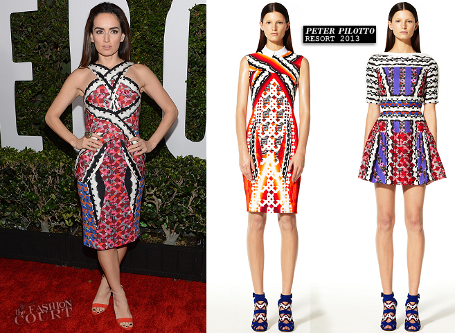 Ana de la Reguera in Peter Pilotto | 'Mandela: Long Walk To Freedom' LA Premiere