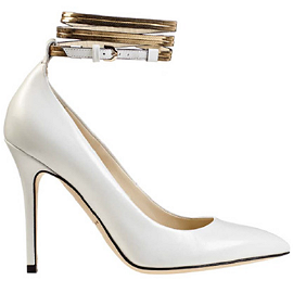 Brian Atwood Fall 2013 CHANCE Ankle Strap Leather Pumps
