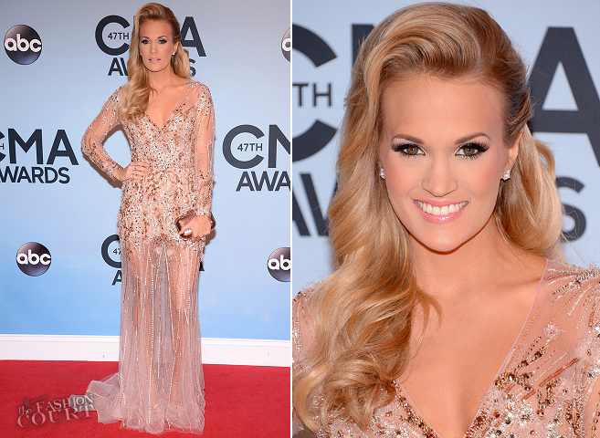 Carrie Underwood in Ralph & Russo | 2013 CMA Awards