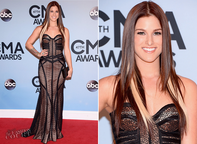 Cassadee Pope in Jovani | 2013 CMA Awards