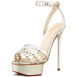 Charlotte Olympia I HEART YOU Sandals