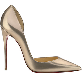 Christian Louboutin Iriza Pointed-Toe d'Orsay Pumps