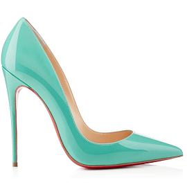 Christian Louboutin SO KATE Aqua Pumps