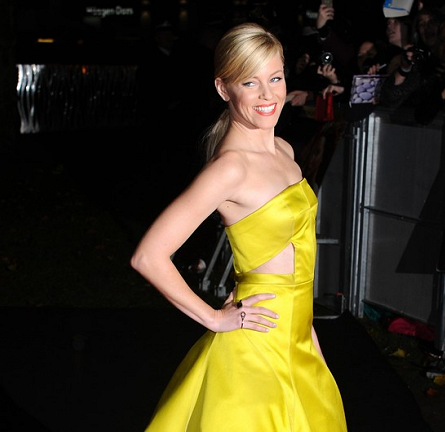 Elizabeth Banks in Jason Wu | 'The Hunger Games: Catching Fire' UK Premiere