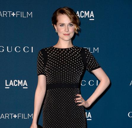 Evan Rachel Wood in Gucci | LACMA 2013 Art + Film Gala
