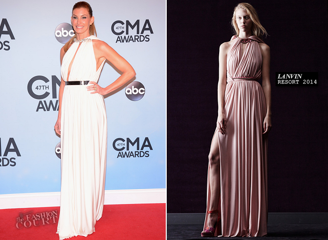 Faith Hill in Lanvin | 2013 CMA Awards
