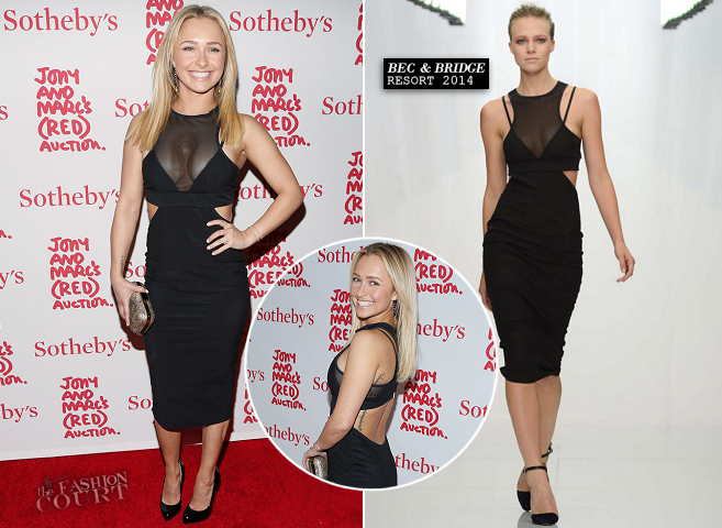 Hayden Panettiere in Bec & Bridge | Jony And Marc's (RED) Auction