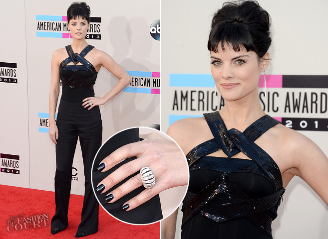 Jaimie Alexander in Armani Privé | 2013 American Music Awards