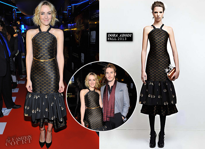 Jena Malone in Dora Abodi | 'The Hunger Games: Catching Fire' Toronto Premiere