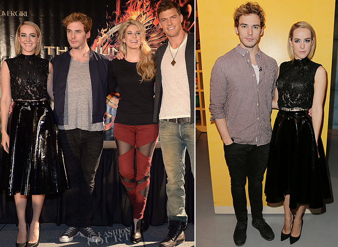 Jena Malone in Topshop | 'The Hunger Games: Catching Fire' Victory Tour - Miami, FL