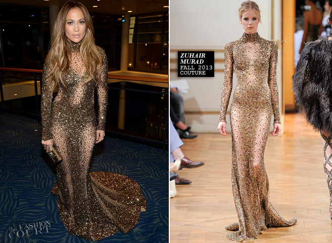 Jennifer Lopez in Zuhair Murad Couture | 2013 American Music Awards