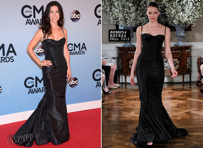 Joy Williams in Romona Keveza | 2013 CMA Awards