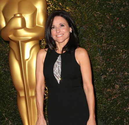 Julia Louis-Dreyfus in David Meister | 2013 AMPAS Governors Awards
