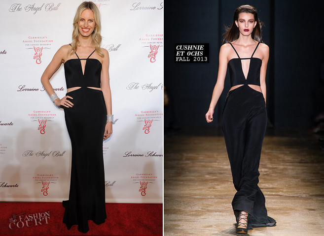 Karolina Kurkova in Cushnie et Ochs | Angel Ball 2013