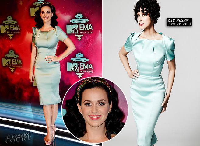 Katy Perry in Zac Posen | MTV EMA's 2013
