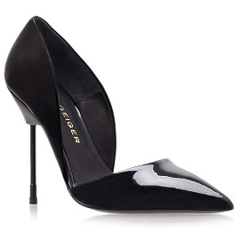 Kurt Geiger BOND Patent Court Pumps