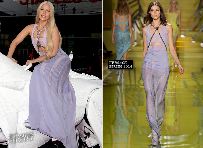Lady Gaga in Versace | 2013 American Music Awards