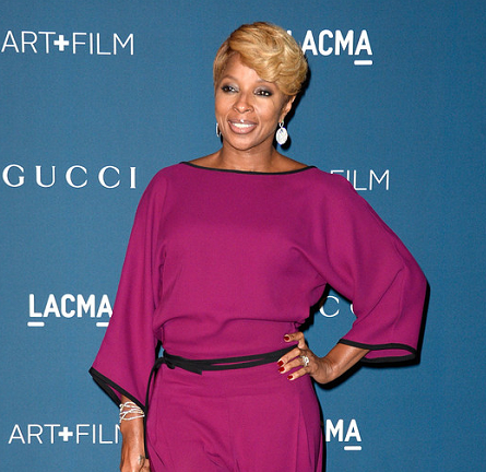 Mary J. Blige in Gucci | LACMA 2013 Art + Film Gala