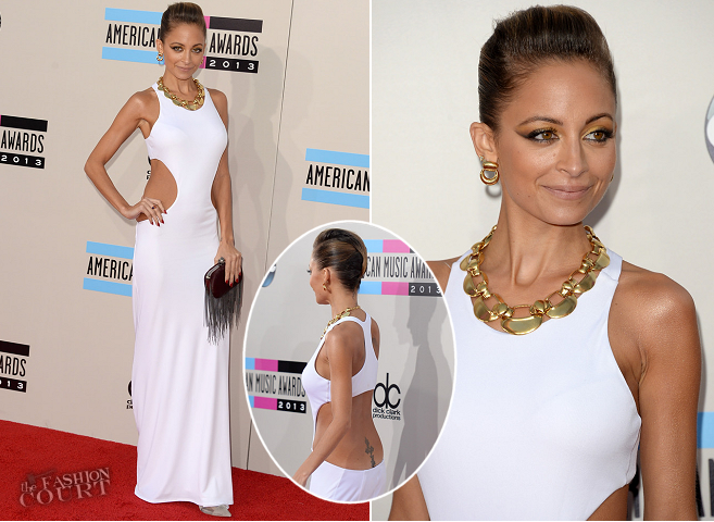 Nicole Richie in Emilio Pucci | 2013 American Music Awards