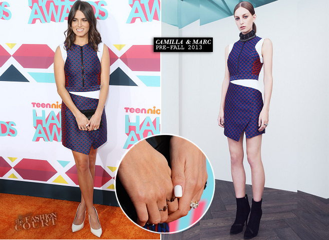 Nikki Reed in Camilla + Marc | 2013 TeenNick HALO Awards