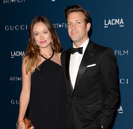 Olivia Wilde and Jason Sudeikis in Gucci | LACMA 2013 Art + Film Gala