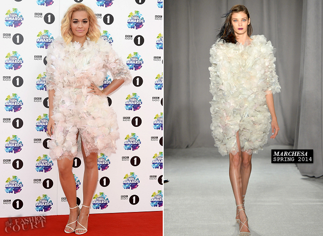 Rita Ora in Marchesa | BBC Radio 1 Teen Awards 2013