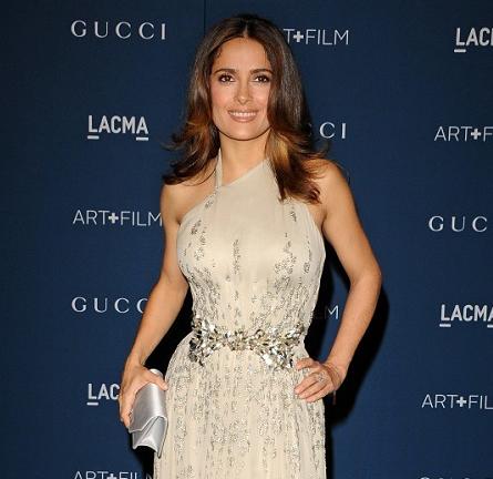Salma Hayek in Gucci Première | LACMA 2013 Art + Film Gala