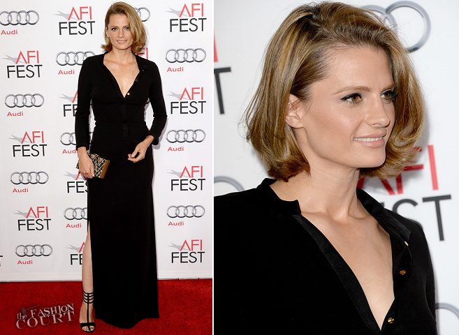 Stana Katic in Halston Heritage | 'Saving Mr. Banks' Opening Night Gala Premiere | AFI FEST 2013