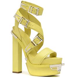 Versace Spring 2014 Platform Multi-Buckle Sandals