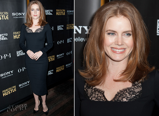 Amy Adams in Altuzarra | 'American Hustle' NYC Screening After Party