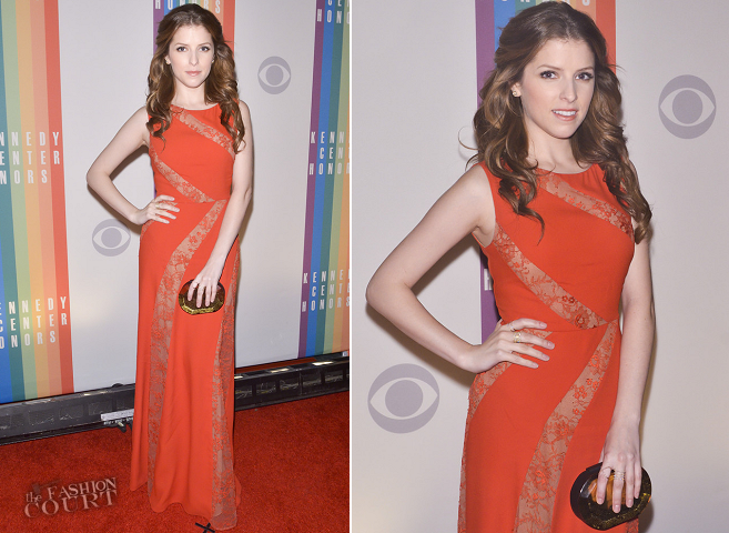 Anna Kendrick in Elie Saab | 2013 Kennedy Center Honors Gala